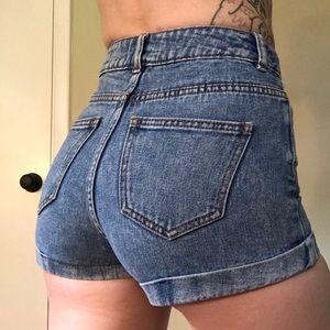 Bullhead   High Waisted Mom Shorts - 3